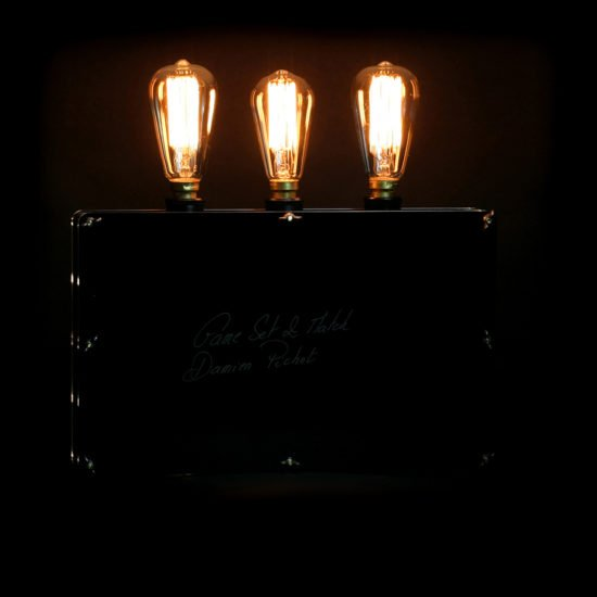 The original handcrafted lighting game set and match made by hand by Light My Vintage gives a life meaning as well as style