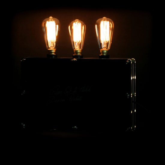 The original handcrafted lighting game set and match exposed by Light My Vintage this is an antique modern lamp that's as functional as it is beautiful