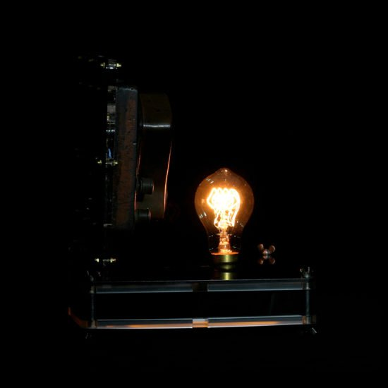 Authentic vintage table lamp high voltage put forward by Light My Vintage full of character