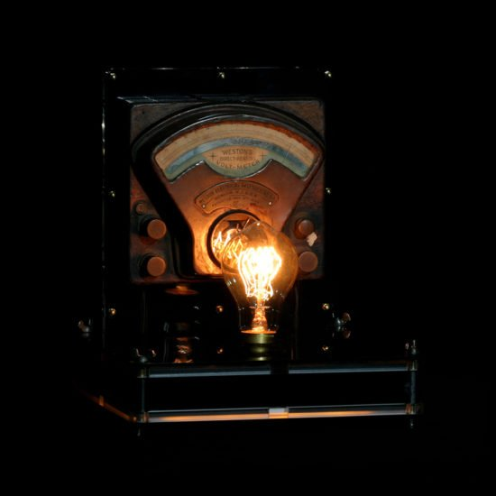 Authentic vintage table lamp high voltage crafted by Light My Vintage will confirm the uniqueness of your decoration